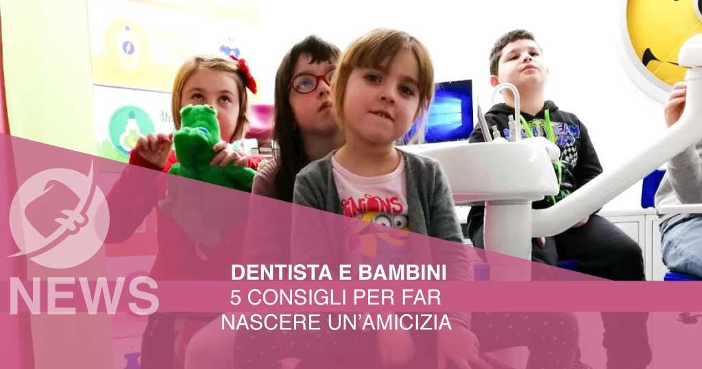 dentista e bambini